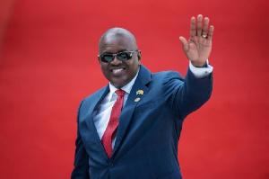 Botswana president, Eric Masisi