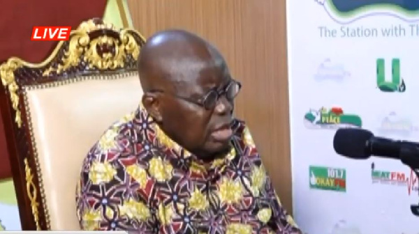 LIVESTREAMING: Akufo-Addo speaks on Hello FM