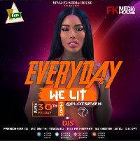 The first club activation comes off tomorrow at the Plot 7 night club
