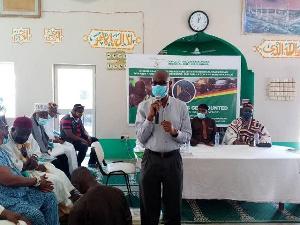 Chairman of the Advisory Board of the Office of the G/A Regional Chief Imam, Mr Abubakar Samori