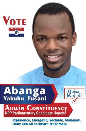 NPP National Youth Organiser hopeful, Abanga Yakubu
