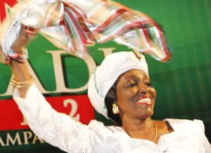 Nana Konadu Agyeman-Rawlings, Flagbearer, NDP