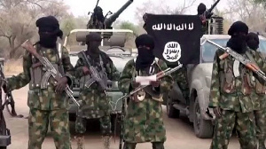 file photo: Boko Haram fighters