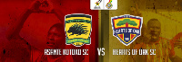 Super Clash between Asante Kotoko and Accra Hearts of Oak