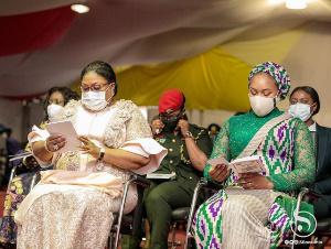 Rebecca Akufo-Addo and Samira Bawumia