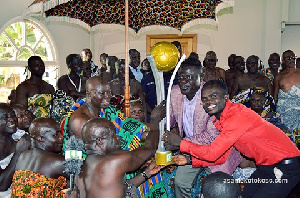 Otumfour charged the club to bring back the lost glory as they venture into Africa next year