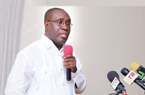 Dr Anthony Yaw Baah, General Secretary of the TUC