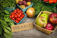 Organic food is food produced by methods that comply with the standards of organic farming