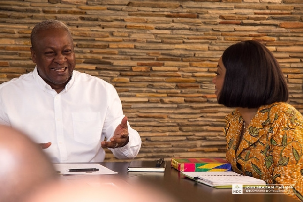 Jean Mensa-led EC must go; they're partisan – Mahama
