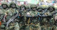 File photo - Ghana Military Force