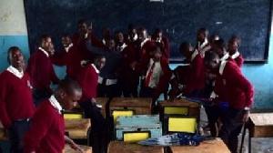 File photo: Kenyan students