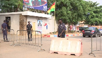 Home of President-elect now a security zone