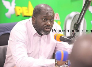 Director of Operations for Progressive People's Party (PPP),  Nana Ofori Owusu