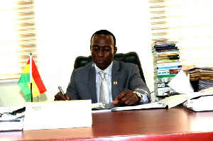 Solomon Tettey Appiah is the Municipal Chief Executive Officer for Kpone-Katamanso