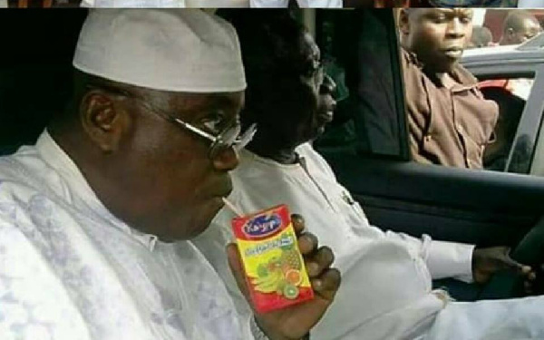 Supposed picture of Nana Addo sipping Kalypo