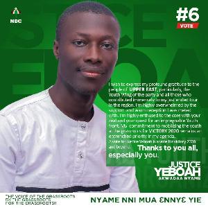 Justice Yeboah,ndc