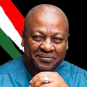 Flagbearer for the National Democratic Congress in the 2020 elections, John Mahama