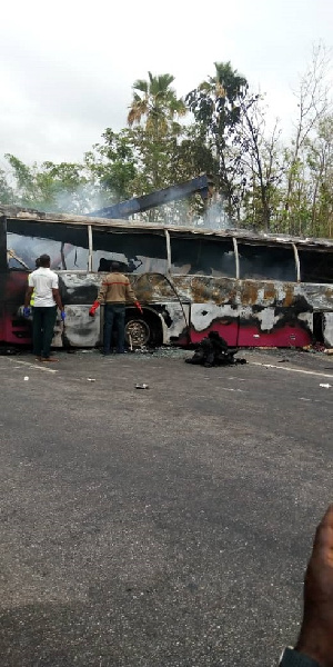 Eyewitnesses say most of the passengers may have died on the spot