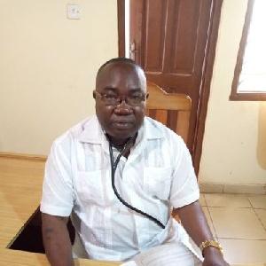 Mark Kurt Nawaane, Member of Parliament for Nabdam Constituency, Upper East Region
