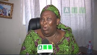 Hajia Fati slapped Adom FM reporter who attempted taking a photo of her