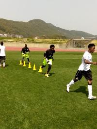 Black Queens training ahead of Japan friendly