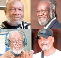 Prince David Osei, Eddie Nartey, Abeiku Santana, James Gardiner