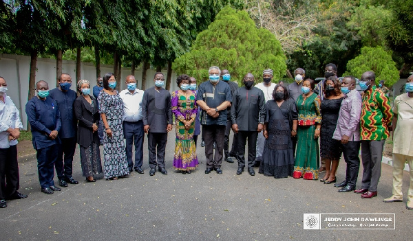 Ghanaians, others mourn with Rawlings, Agbotui family