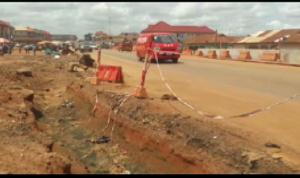 The current sate of the Abuakwa, Tanoso- Sunyani road