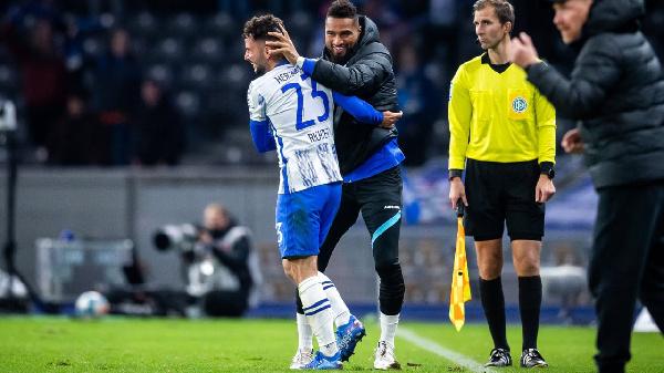 Marco Richter credits Kevin-Prince Boateng for goal against Frankfurt