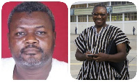 Alhassan Azong and Clement Apaak