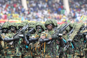 File photo: The troops have been sent to Gambia to assist in getting Jammeh to relinquish power.