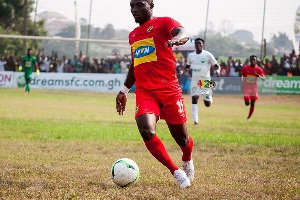 Striker, William Opoku Mensah
