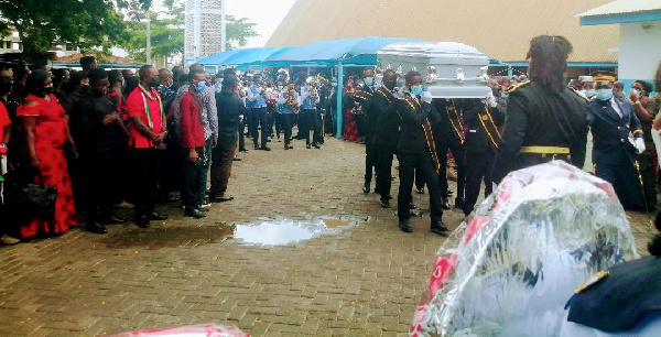 Tema East NDC Vice Chairman laid to rest