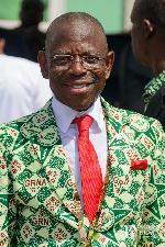GRNMA past president, Dr Kwaku Asante-Krobea