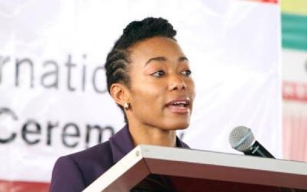 Member of Parliament (MP) of Korle-Klottey, Dr Zanetor Agyeman-Rawlings