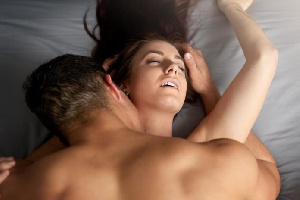 File photo: According to the actress, women love to hear their men moan during sex