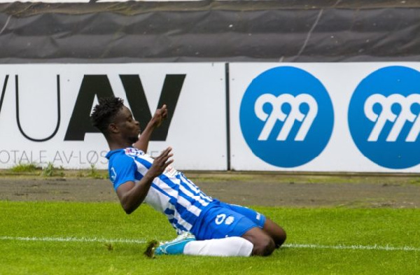 Three Danish clubs chase Ghanaian striker Dauda Mohammed