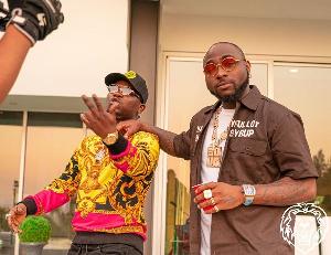 Afrobeats artiste Vudumane and Davido