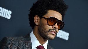 R&B singer, The Weeknd