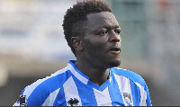 Muntari is worried that there is a ban on football activities in Ghana