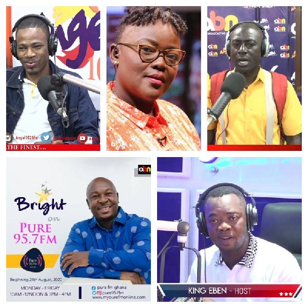 Kofi Adoma, Nana Yaa Brefo, Capt. Smart, BKB and King Eben are a few of the personalities who exited