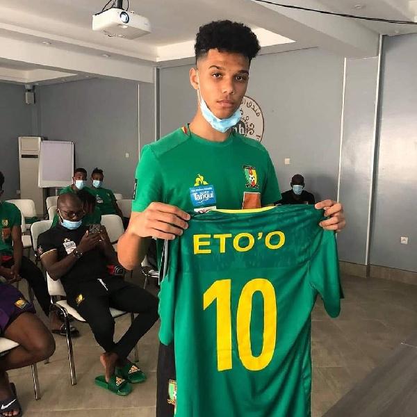 Etienne Eto'o son of Cameroon legend Samuel Eto'o