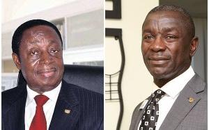 Dr Kwabena Duffuor and Prince Kofi Amoabeng