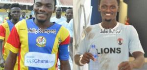 Phillip Boampong and John Kuffour