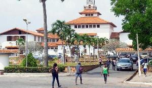 File photo of the University of Ghana