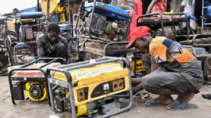An estimated 22 million small-unit generators are in use by Nigerians