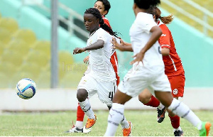 Janet Egyir netted three times in five matches for the Black Queens