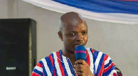 Kwame Baffoe Abronye who was NPP Vice Chair of the Brong Ahafo is now Chairman of Bono Region