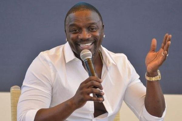 Senegalese-American singer, Akon
