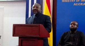A.B. Adjei was before now, Chief Executive Officer of the Public Procurement Authority (PPA)
